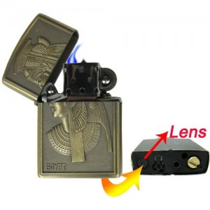 2GB Pinhole Lens Lighter Spy Camera with Color Video and Audio